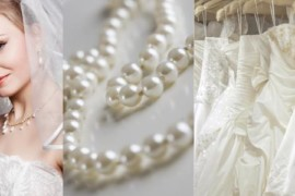 Come abbinare gli accessori all'abito da sposa