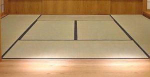 tatami pavimento